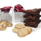 Cookie and Brownie Silver Elegance Gift
