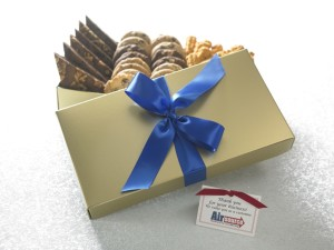 Image perceived to contain Gift on the About Custom Branded Gifts - Cornerstone Cookie Gifts page