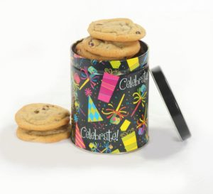 Celebrate 8 ct Cookie Tin