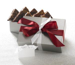 Silver Elegance Brownie Gift