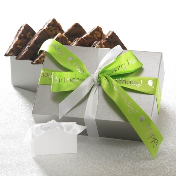 Happy Birthday 12 ct Brownie Gift