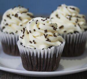 Chocolate Velvet Cupcake