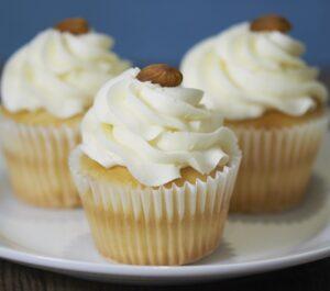 Italian Cream Cupcake