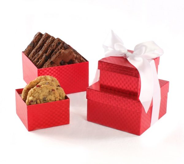 Distinguished Red Small Tower Gift