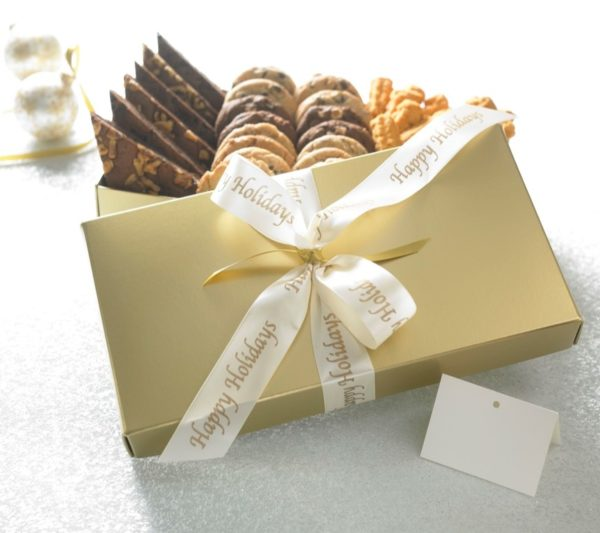 Happy Holidays Gold Perfect Selection Gift