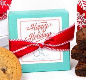 Aqua Cookie and Brownie